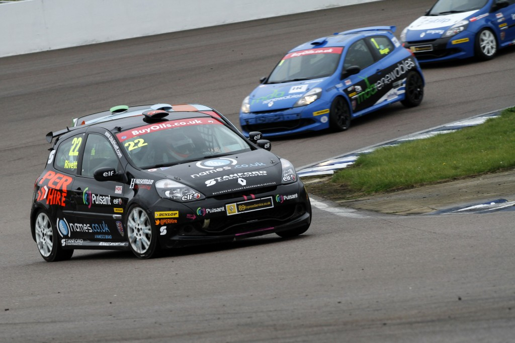 Paul Rivett (GBR) Names.co.uk / Stancombe Vehicle Engineering Renault Clio Cup