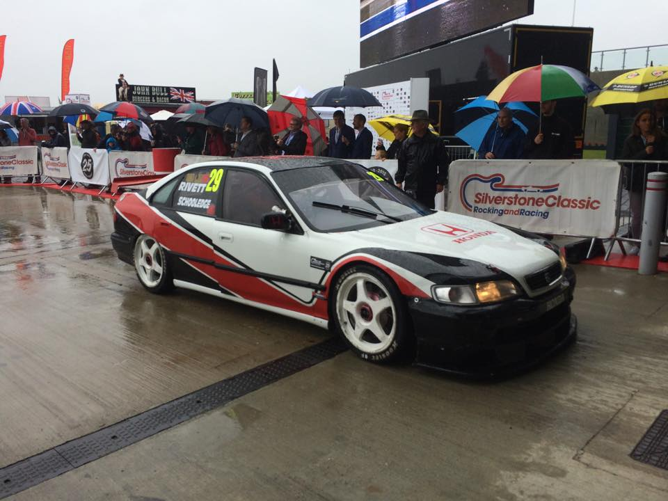 Paul Rivett Honda Super Touring Car