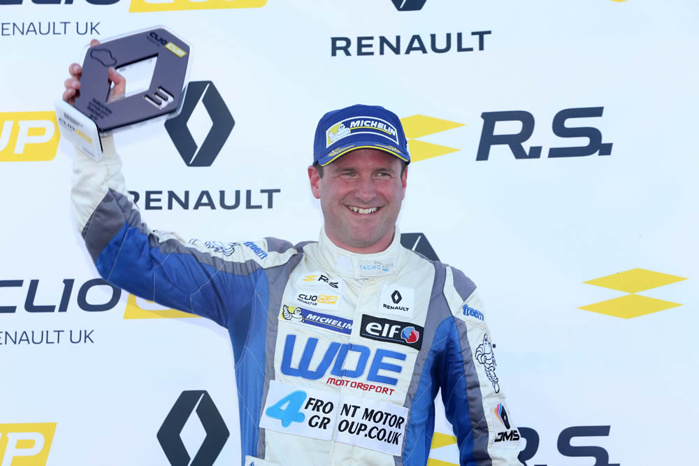 Paul confirmed as 2018 Renault Clio Cup Champion